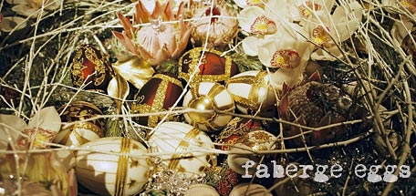 faberge table decorations
